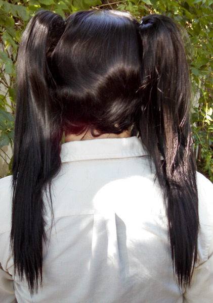 Nico cosplay wig back view