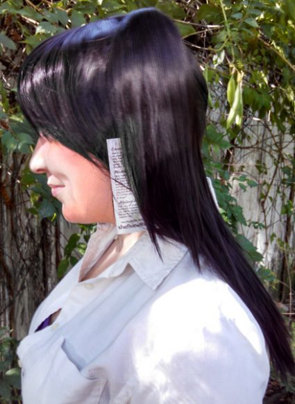 Nico cosplay wig side view