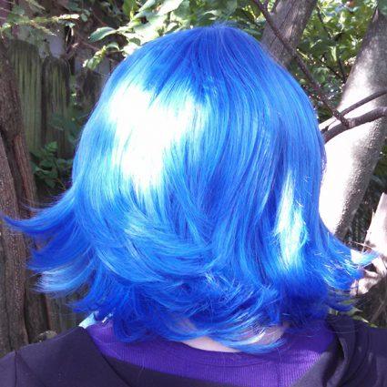 Lapis Lazuli wig back view