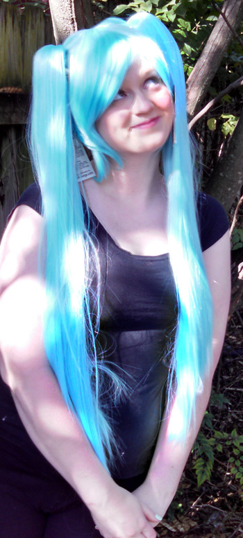 Nymph cosplay wig