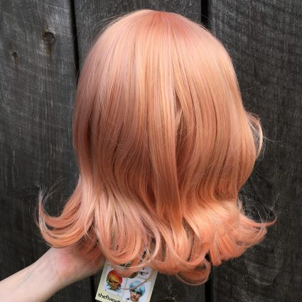 Mirai cosplay wig back view