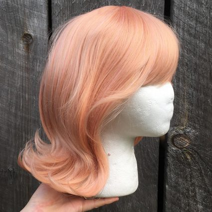 Mirai cosplay wig side view