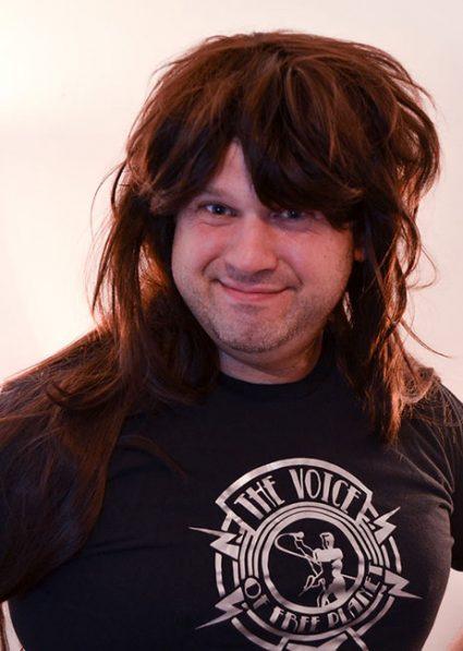 Greg cosplay wig
