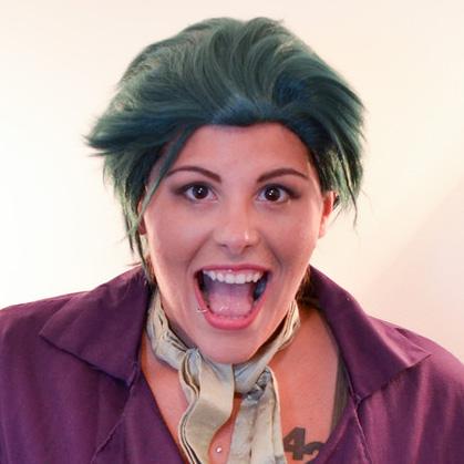 Joker cosplay wig