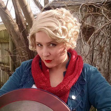 Queenie cosplay wig
