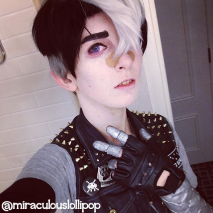 Shiro by @miraculouslollipop (with added bang clip)