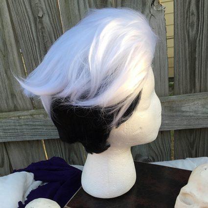 Guzma wig side view