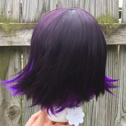 Kokichi cosplay wig back view