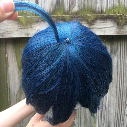 Saihara cosplay wig top view