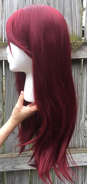 Sakurauchi cosplay wig side view
