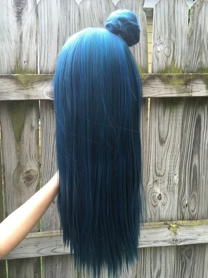 Yoshiko wig back view