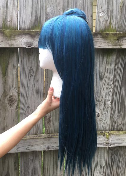 Yoshiko wig side view