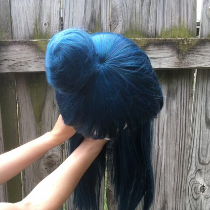 Yoshiko Wig Top View