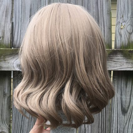 You Watanabe cosplay wig back view