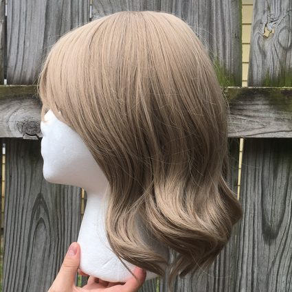 You Watanabe cosplay wig side view
