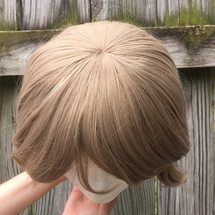 You Watanabe cosplay wig top view