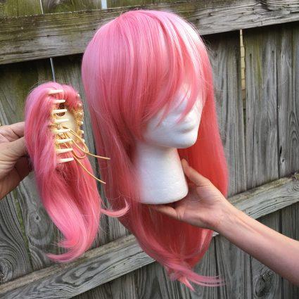 Yuno wig clip view