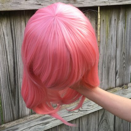 Yuno wig top view