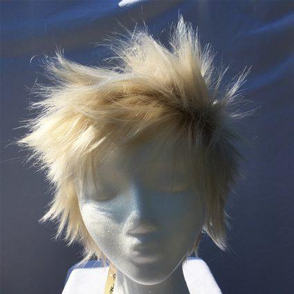 Bakugo wig fluffed up