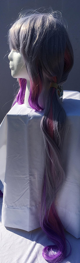 Kanna cosplay wig side view