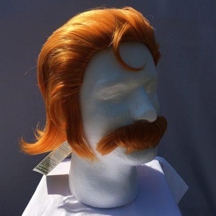 Coran cosplay wig