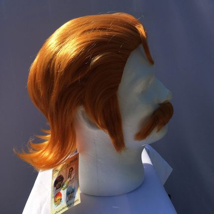 Coran cosplay wig side view