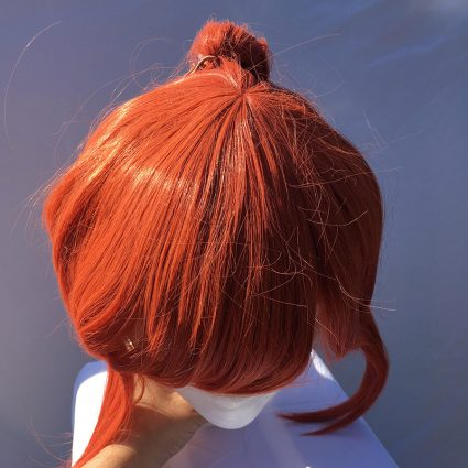 Kobayashi cosplay wig top view