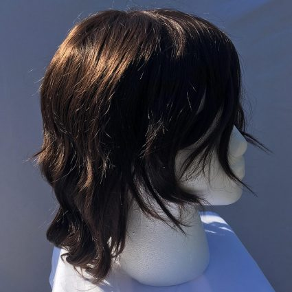 Bucky cosplay wig side view 1