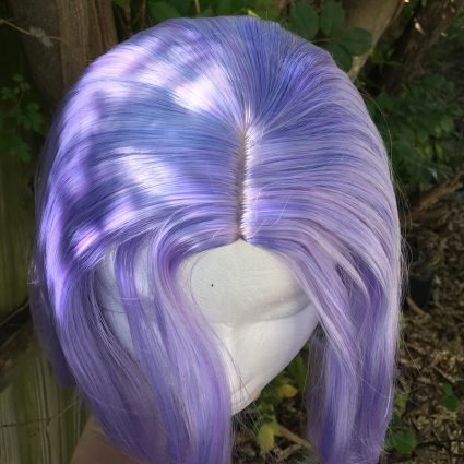 James cosplay wig top view