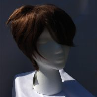 Tracer cosplay wig