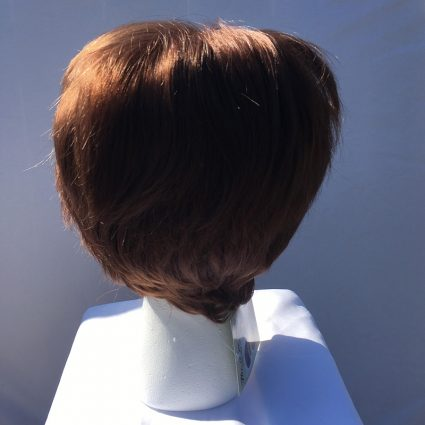 Tracer cosplay wig back view
