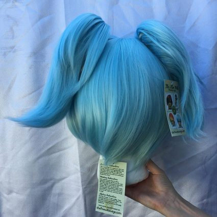 Nagisa cosplay wig back view