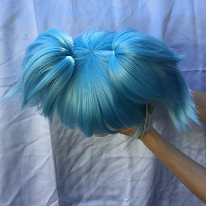 Nagisa cosplay wig top view