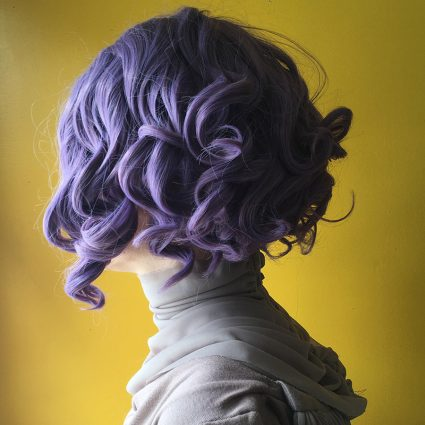 Holdo cosplay wig side view 1
