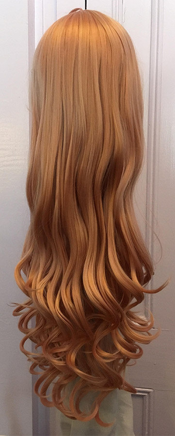 Miu cosplay wig back view