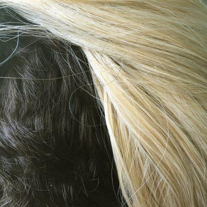 Taako wig closeup