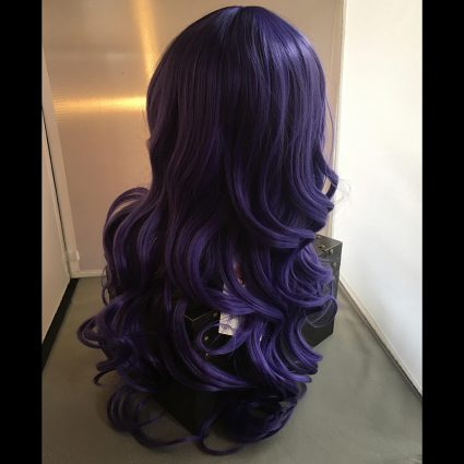 Rarity cosplay wig back view