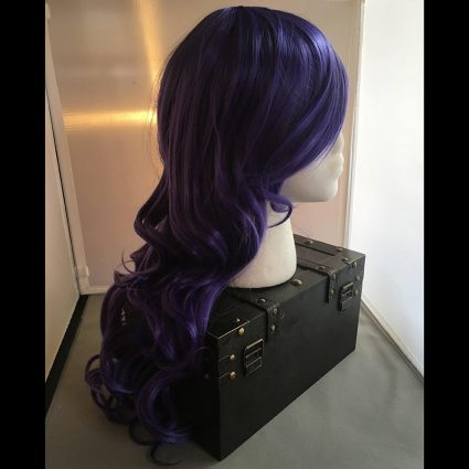 Rarity cosplay wig side view