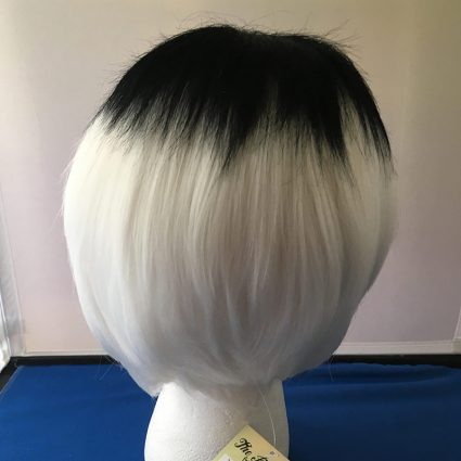 Haise cosplay wig back view