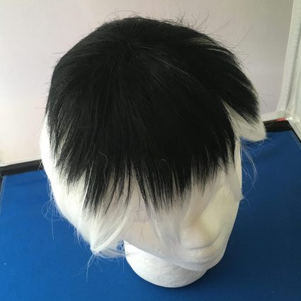 Haise cosplay wig top view