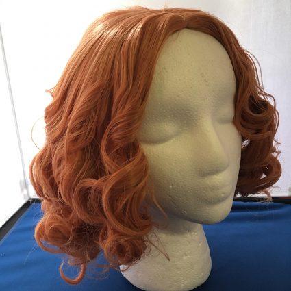 Haru cosplay wig 3/4th view