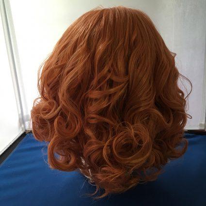 Haru cosplay wig back view