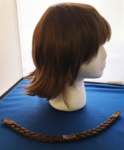 Makoto Niijima cosplay wig side view