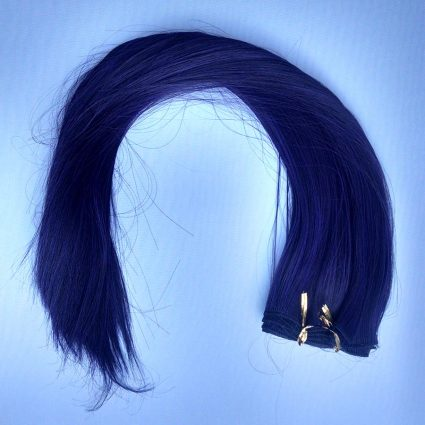"weft in ""gothic purple"""
