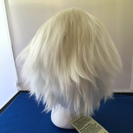 white lacefront wig back