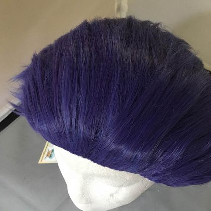 Shinso cosplay wig top view
