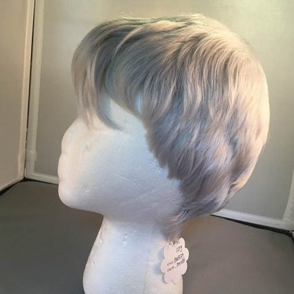 Shiro cosplay wig side view