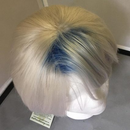 Parzival cosplay wig top view