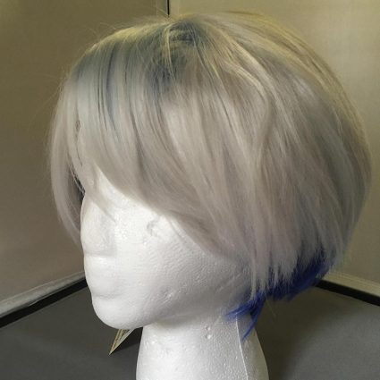 Parzival cosplay wig ¾th view