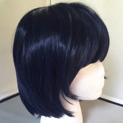 Takemi cosplay wig side view 2